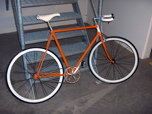 fixed gear cykel